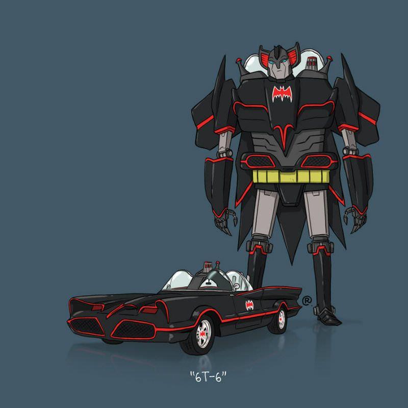 Se os Transformers usassem um DeLorean? - Desenhos Nerds #40   Nerd Pai - O Blog do Pai Nerd