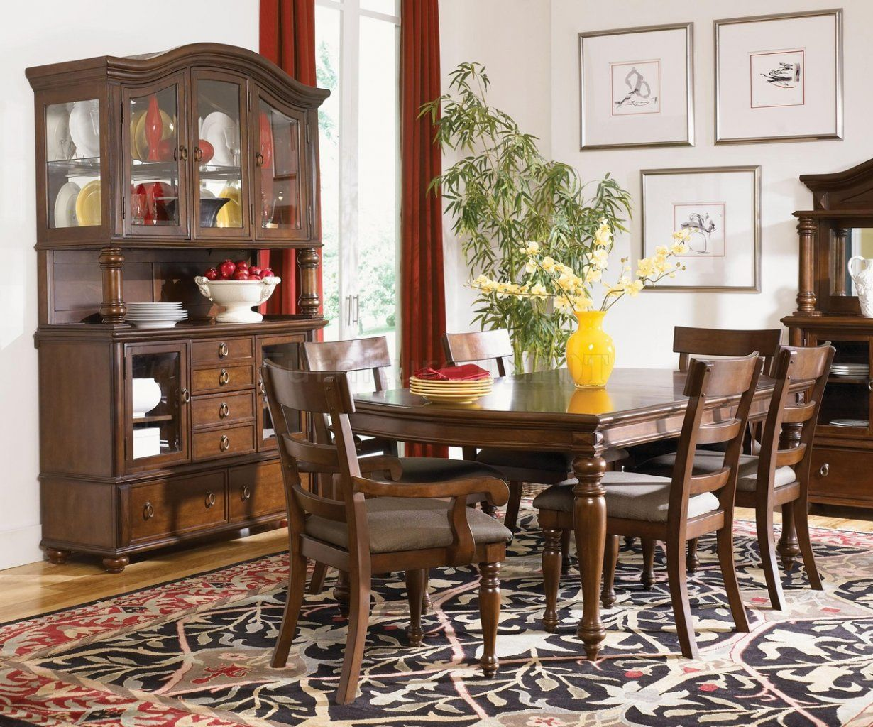 Image Result For Traditional Dining Room Furniture  Dining Room Mesmerizing Traditional Dining Room Sets Cherry Design Decoration