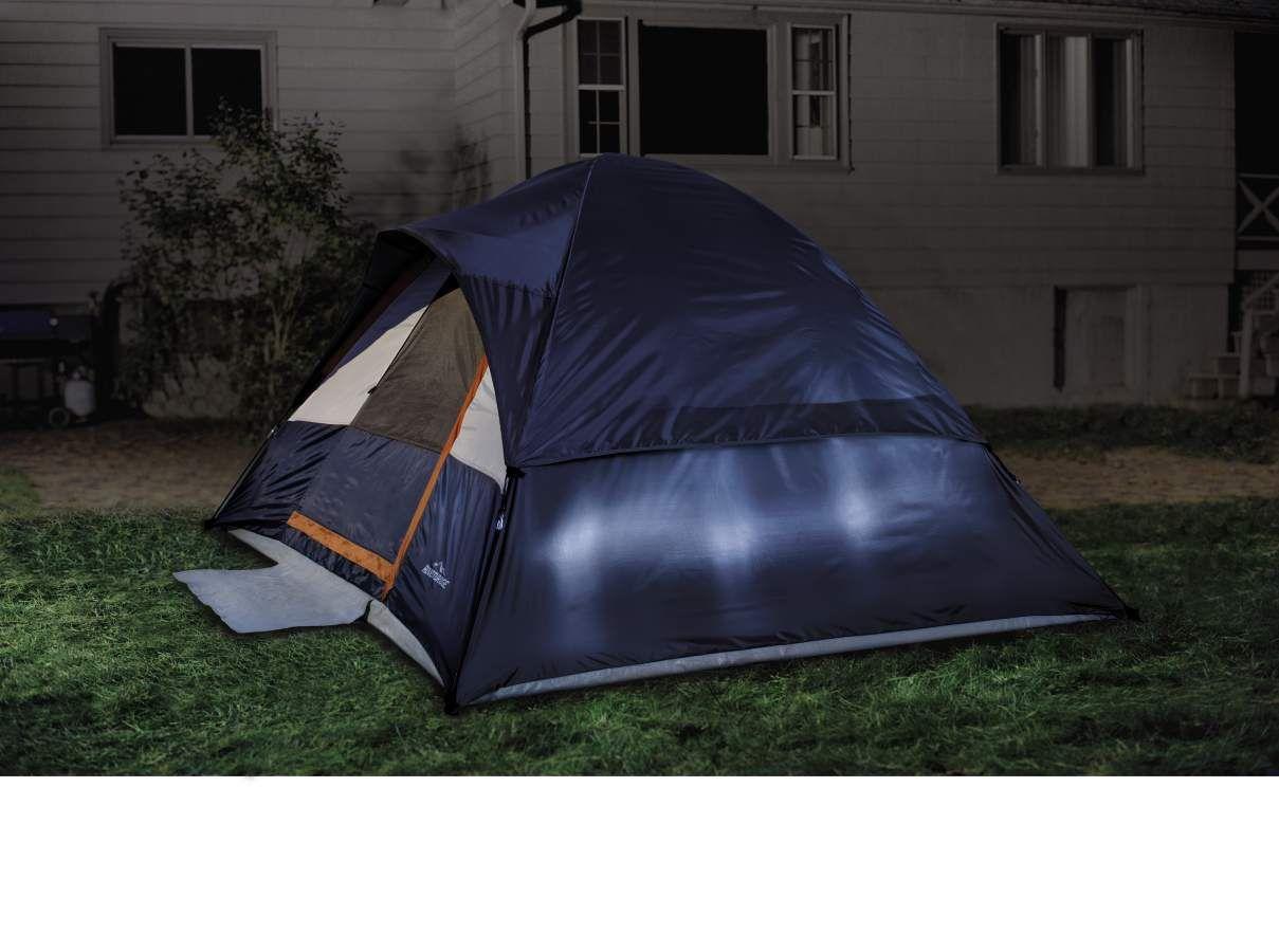 Adventuridge 9' x 7' Dome Tent from ALDI Dome tent, Tent