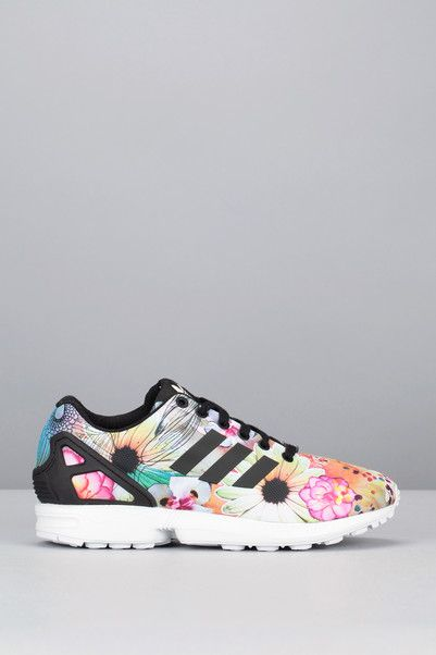 Zx Runnings Originals Flux Sur Imprimées Fleurs Adidas Noir W qpEqwrZ