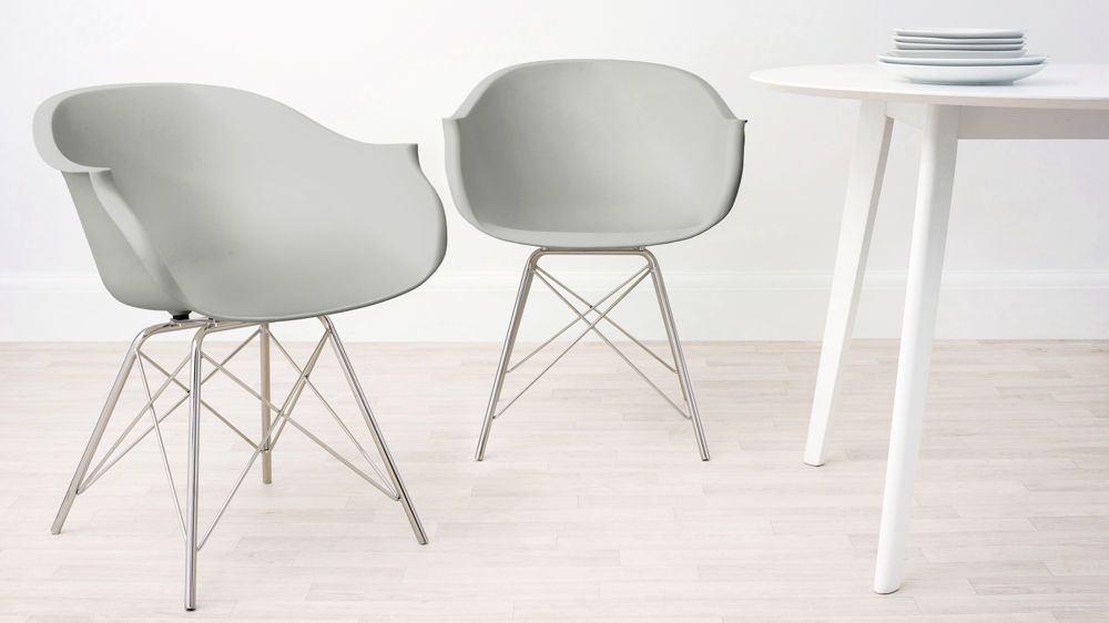 Stylo Dining Armchair Eames Style Dining Chair Dining Chairs