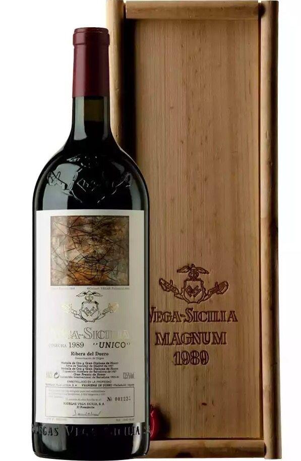 Vega Sicilia único 1989 Do Ribera Del Duero Guía De Vinos Sicilia Vinos