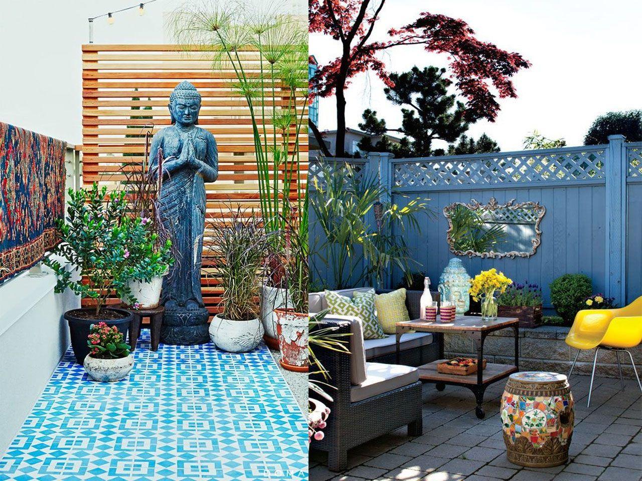 6 claves para la decoraci n de terrazas modernas boho chic for Ideas de terrazas modernas