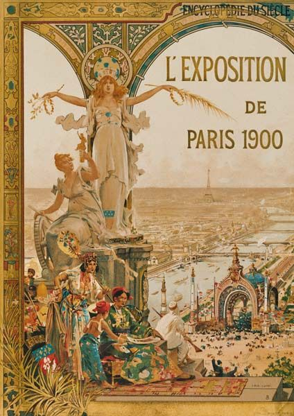 Exposition Universelle, Paris 1900 | Paris Ancienne | Art ...