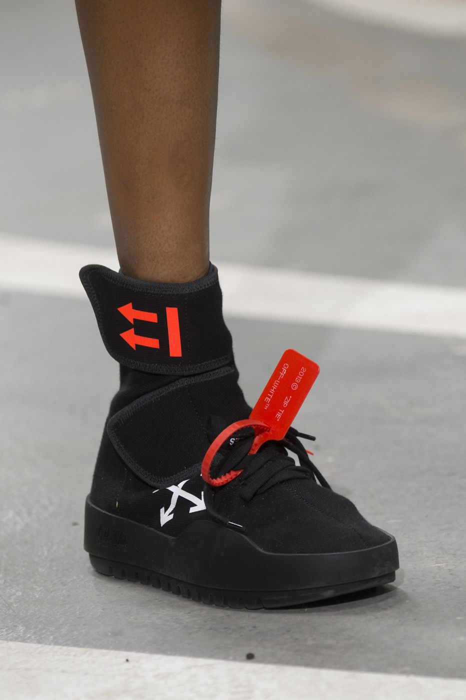 Off-White at Paris Fashion Week Spring 2019 | Shoes with