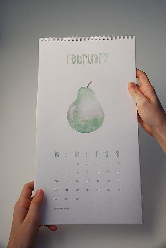 2012 Creativo Calendario Designs 11