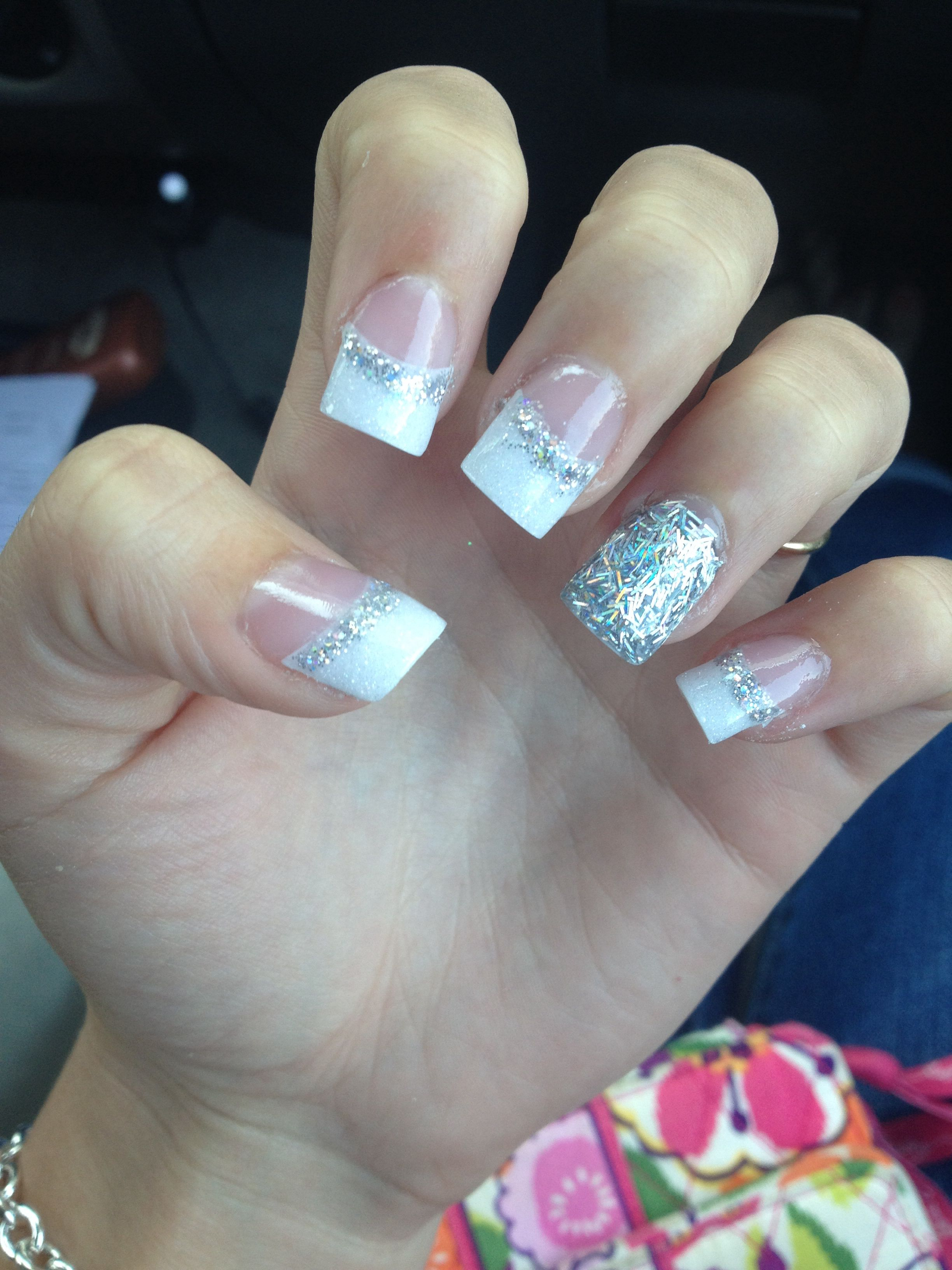 Cute idea for prom nails | Claws | Pinterest | Prom nails, Prom hair ...
