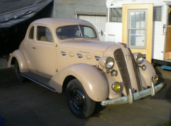 1937 Graham Cavalier Series 95 Supercharged Business Coupe