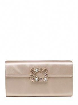cc5cb3283d roger vivier - women - clutches - swarovski silk satin clutch ...