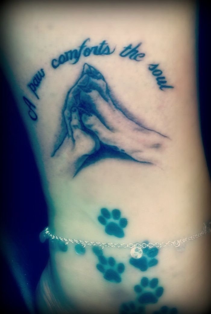40 Amazing Dog Paw Tattoo Design Ideas In 2020 | Love ...
