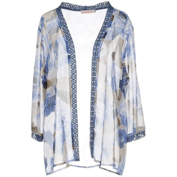 Gocce Di Elena® Cardigan (€85) ❤ liked on Polyvore featuring tops ...