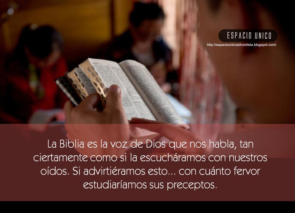 La Biblia...
