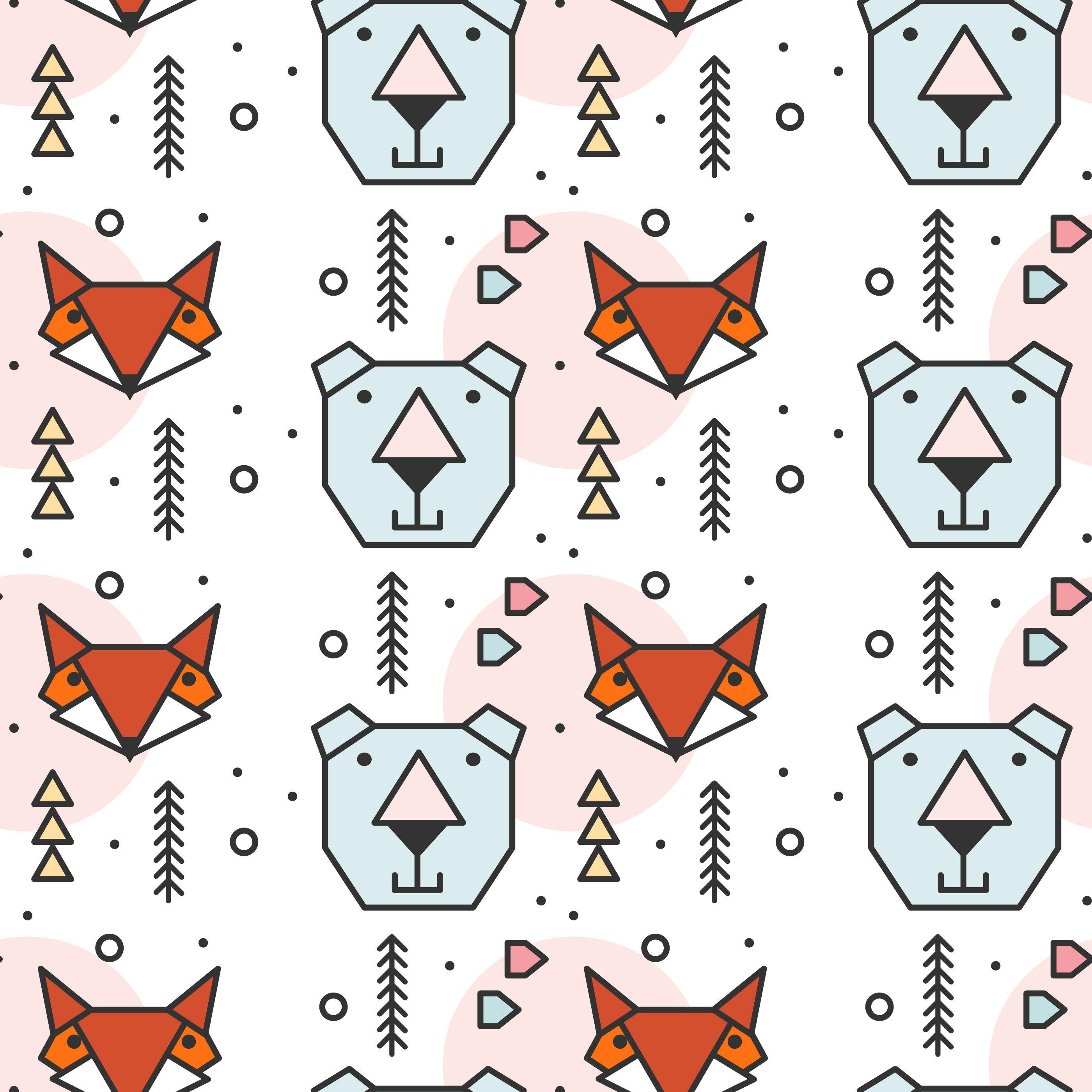 15+ Free Geometric Animal Clipart