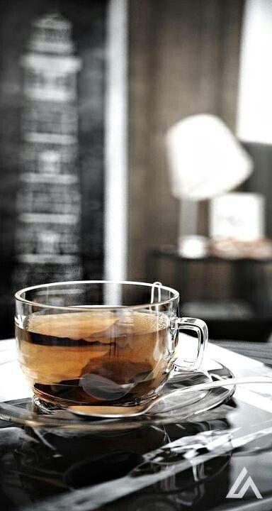 Need. Transparent tea cup