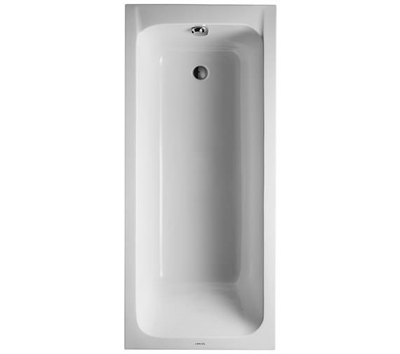 Duravit D Code Built In Bath With Support Feet Outlet In Foot Area 700102000000000