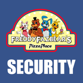 Five Nights At Freddys T Shirts Teepublic Five Nights At Freddy S Five Night Security Logo