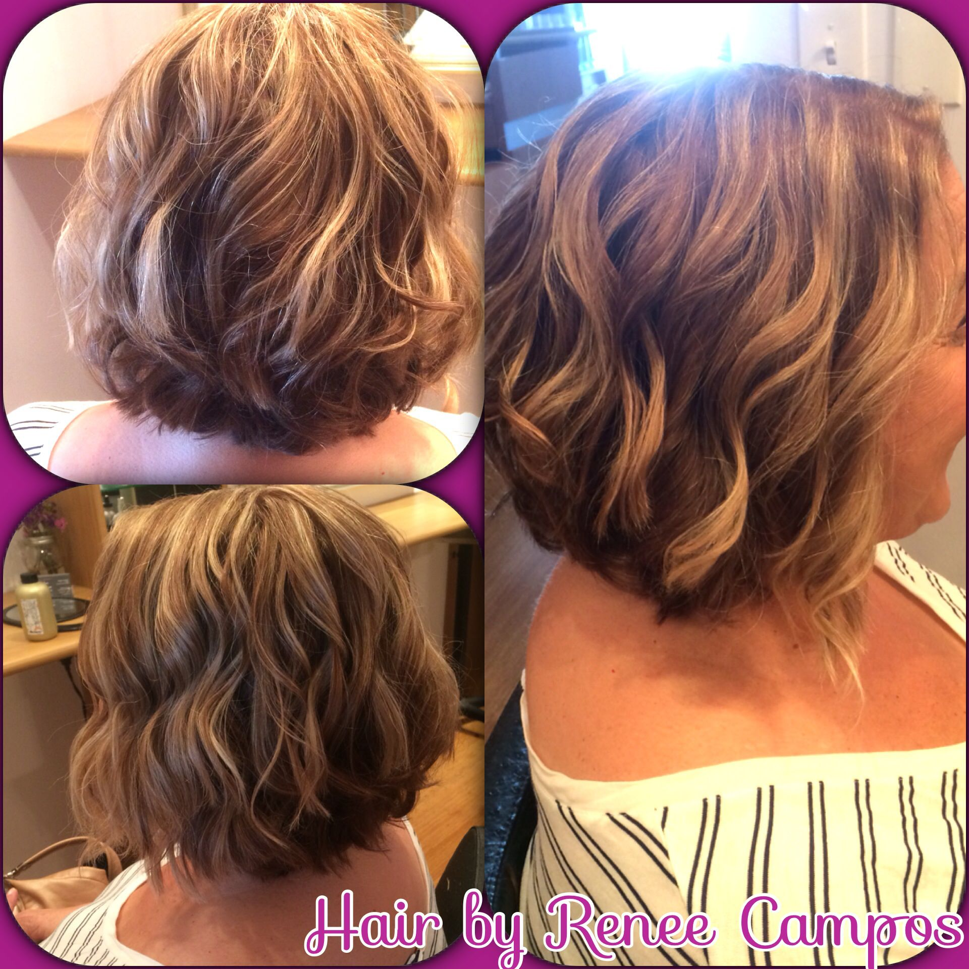 Luxury Beachy Bob Hairstyle