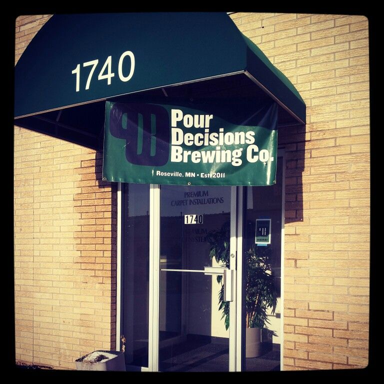 Pour Decisions Brewing Co., Roseville, MN