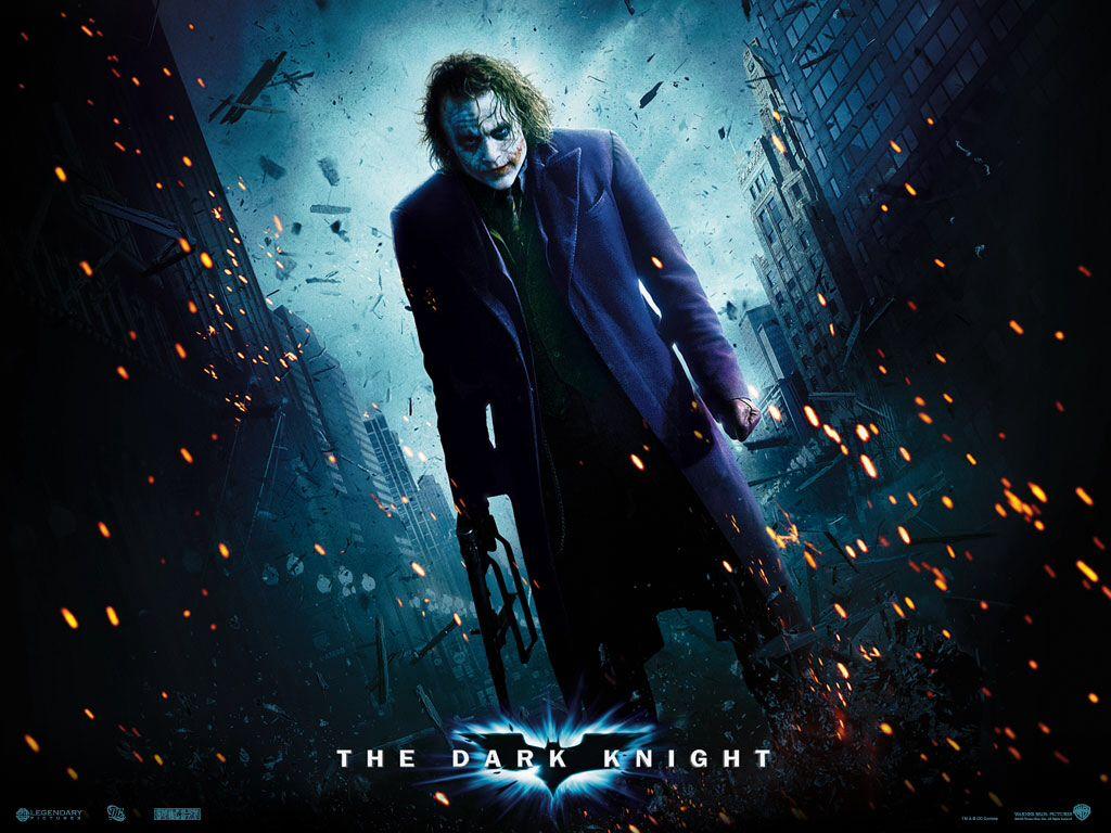 The Dark Knight Caballero Oscuro Batman Wallpaper Joker