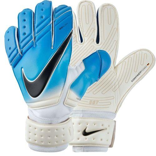 79a818e9a65 Nike Men s Premier SGT Goalkeeper Gloves White Photo Blue ...