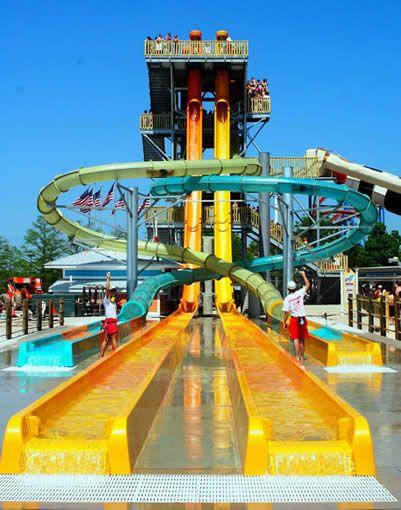 Six Flags Great America Proslide Technology Inc Great America Water Theme Park Water Park