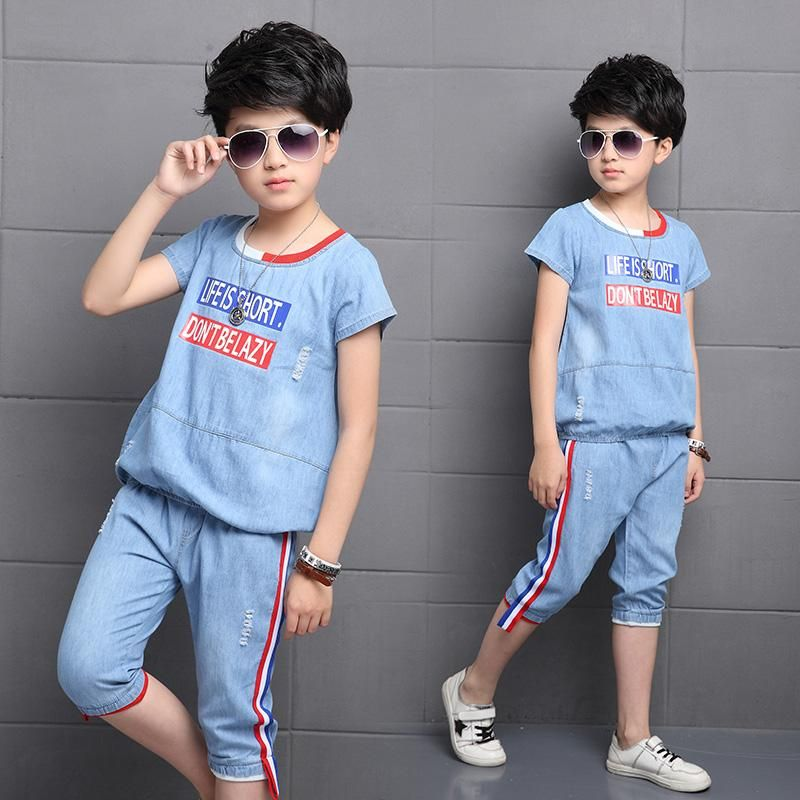 джинсовая одежда для мальчиков - Поиск в Google | Одежда ...