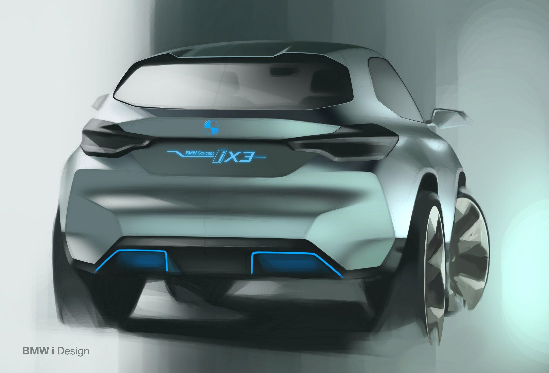BMW Concept iX3 SAV eDrive Electric FreshAir GreenCity