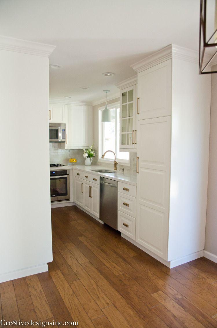 Kitchen window molding  remodel using ikea cabinets  next project  pinterest  ikea