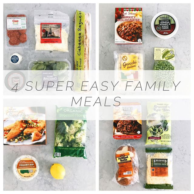 4 easy family meal formulas the good life for less bloglovin