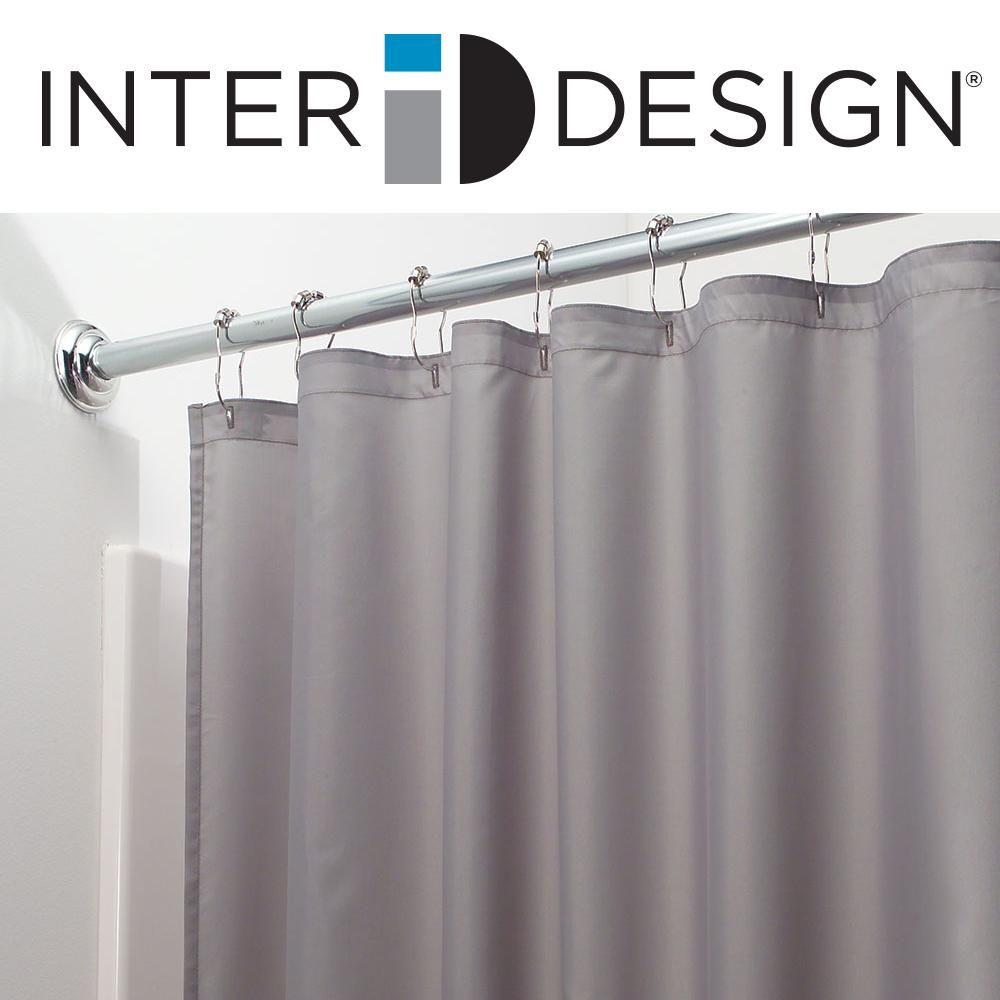 Amazon interdesign mildewfree waterrepellent fabric shower