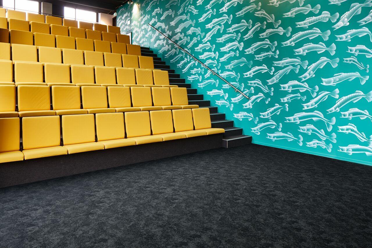 Flotex flocked flooring textile commercial flooring
