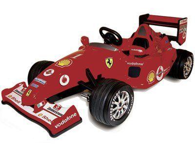 Ferrari F1 12v Ride On Race Car By Toys Toys 745 00 Motor S 1 X 12 Volt Batteries 2 X 6 Volt Rechargeable Batt Toy Cars For Kids Ferrari F1 Ride On Toys