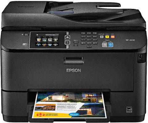Epson Workforce Pro All In One Printer Copier Scanner Fax Wf 4630 By Office Depot Officemax Printer Scanner Inkjet Printer Printer