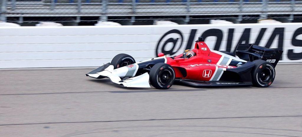 Rene Binder Juncos Racing Chevrolet St Petersburg Street Course