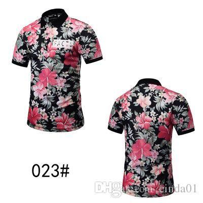 439b1f847b38 Summer Short Men Shirt Camouflage Designer 3D Printing Men Polo Shirts Male  Funny Beach Style Top Tee Fashion T-shirt