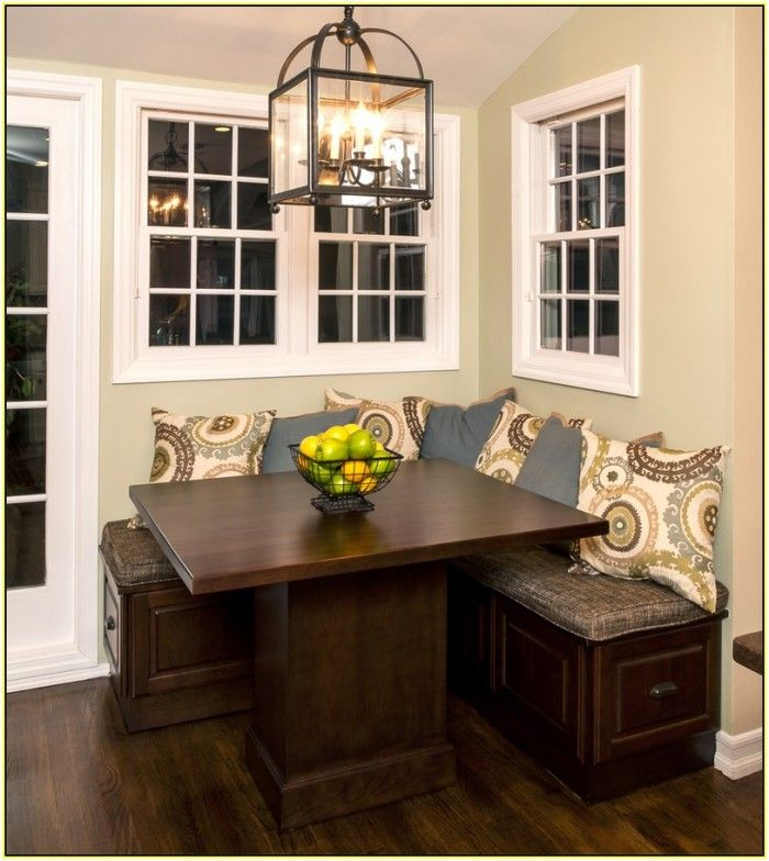 Kitchen Table With Bench Seat: Corner Kitchen Tables With Bench Seating