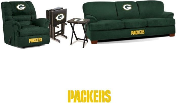 Green Bay Packers NFL Deluxe Fan Cave Set