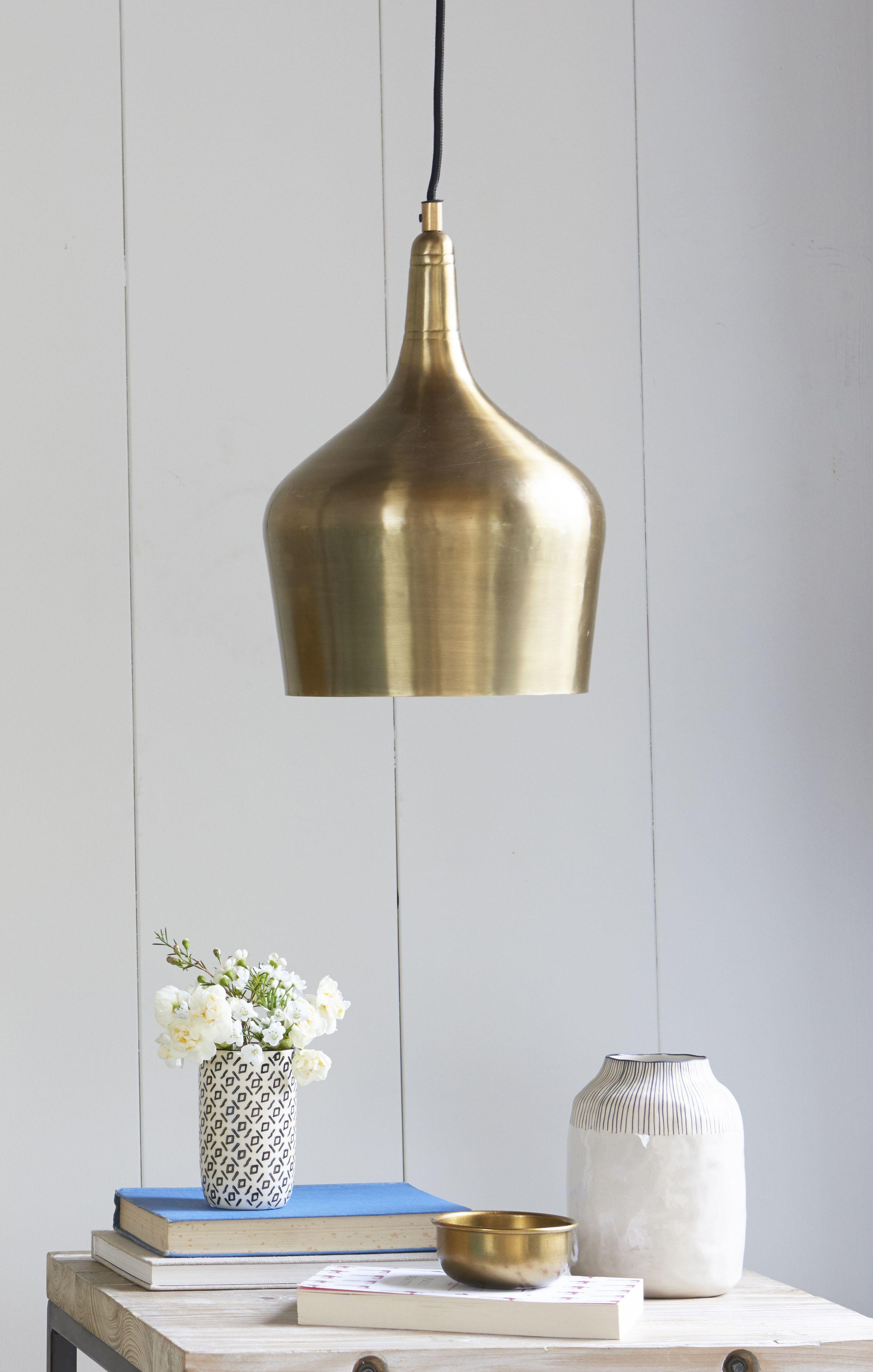 Foundry In Brass Light Fittings Brass Pendant Light Living