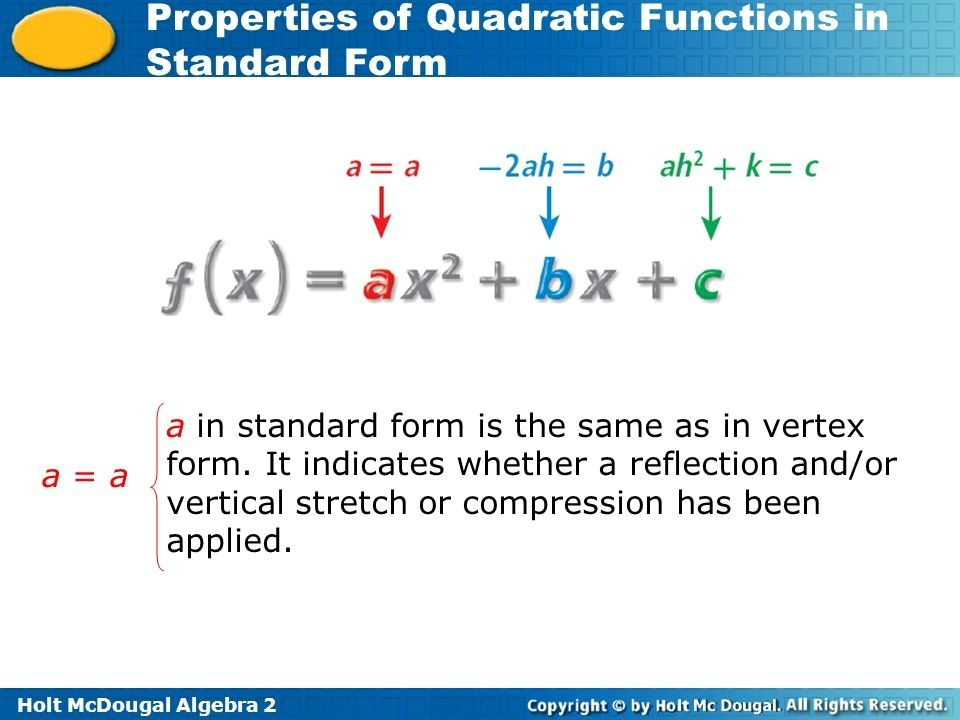 standard form algebra 2 Standard Form Algebra 1 Seven Facts That Nobody Told You About