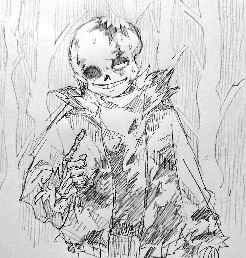 Pin by 依夢 梁 on j Undertale art, Drawings, Horror sans