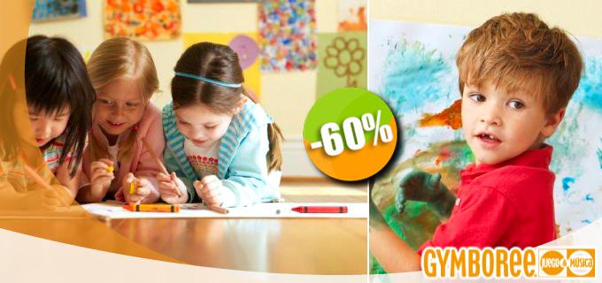 Gymboree - $1,540 en lugar de $3,840 por 1 Inscripción + 2 Clases a la Semana de Estimulación Temprana durante 3 Meses para Niños de 6 meses a 5 años de edad