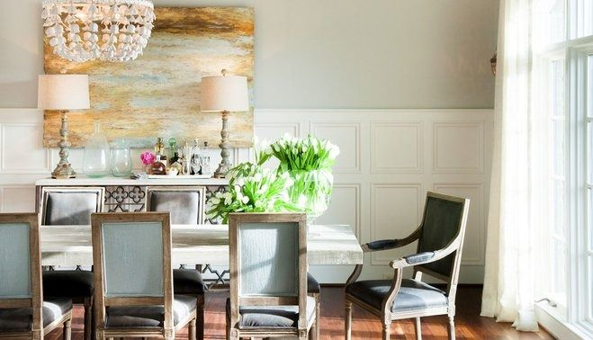 10 Minute Dining Room Makeover If your room needs a new look