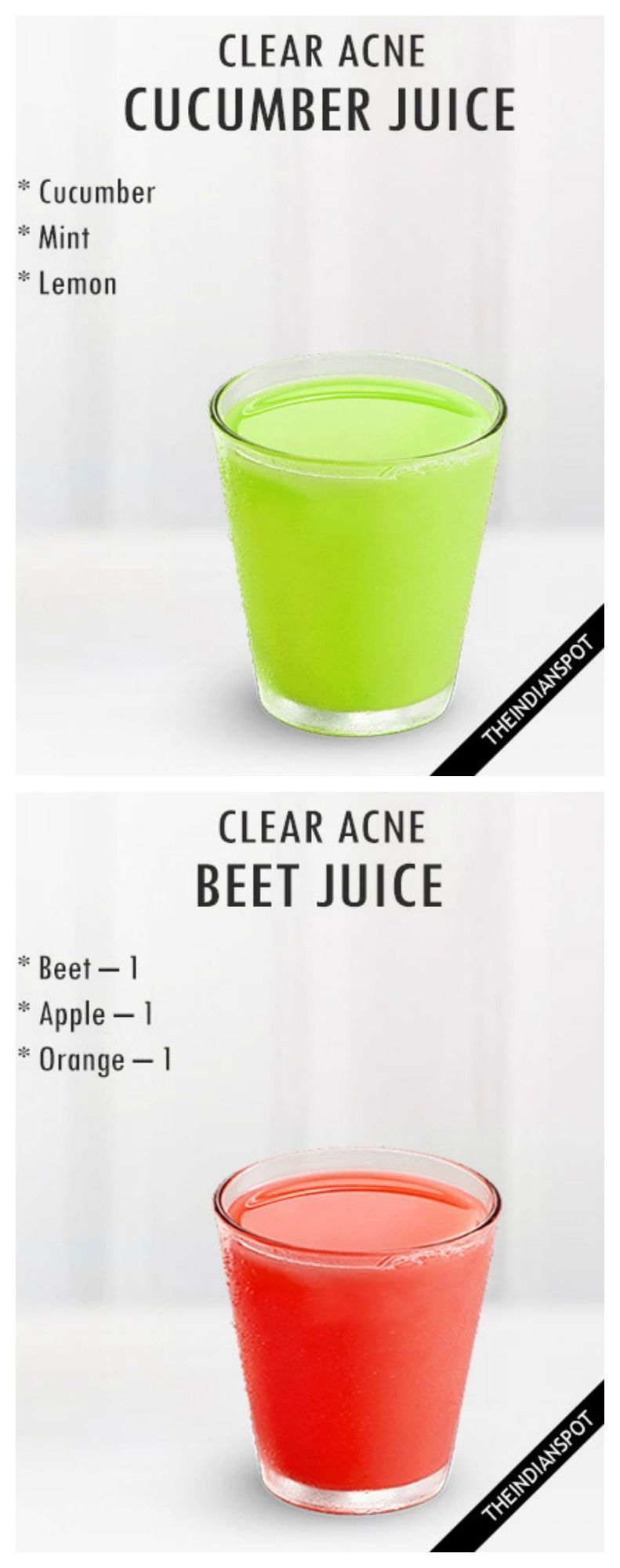 Pin by daliborka puchalska on smoothies pinterest acne cure