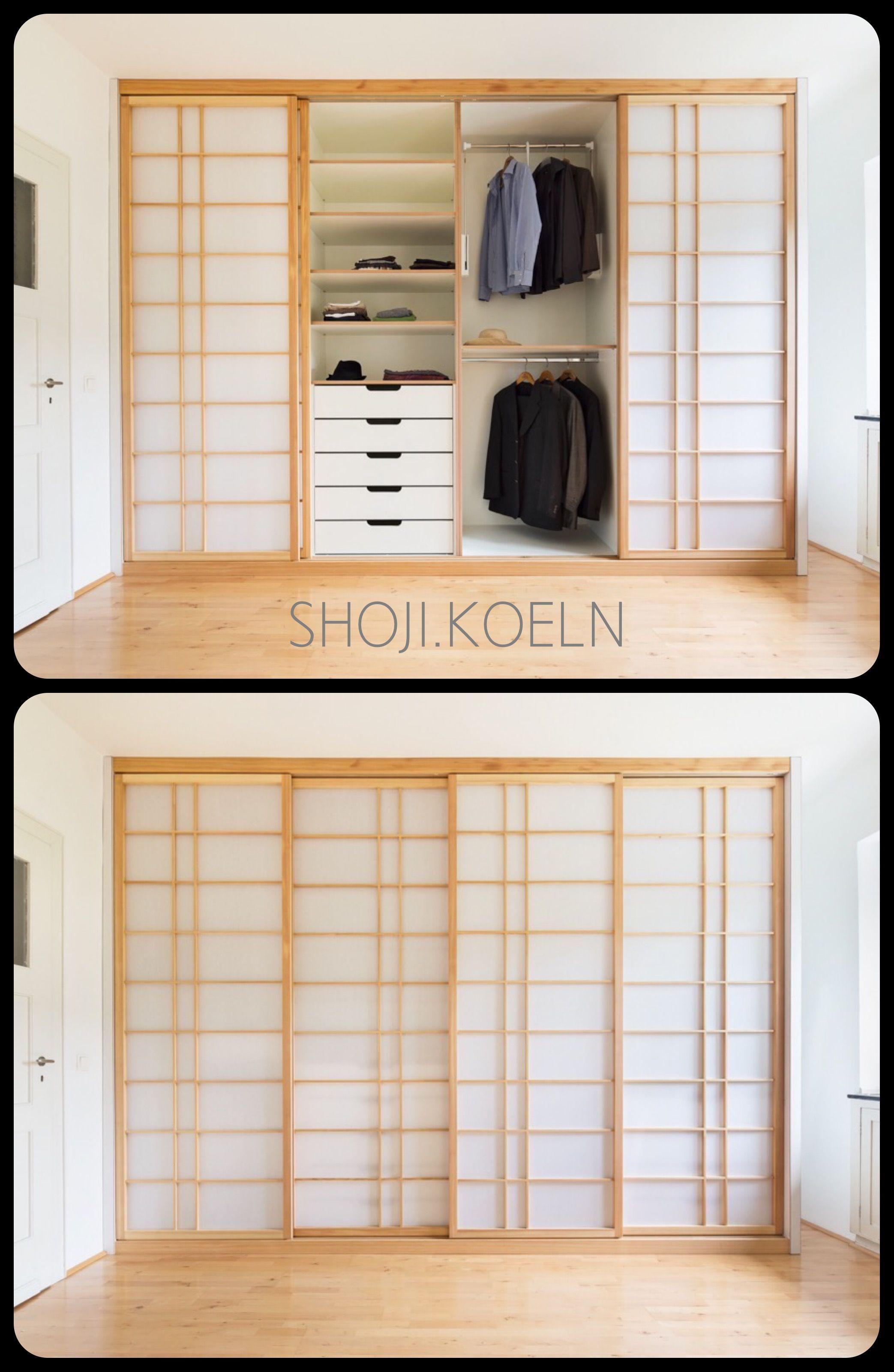 Kleiderschrank Mit Schiebet En Und Schubladen