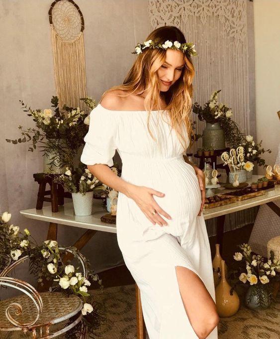 Vestidos De Baby Shower De Famosas Como Vestirme Para Mi Baby Shower Vestidos Baby Shower 2018