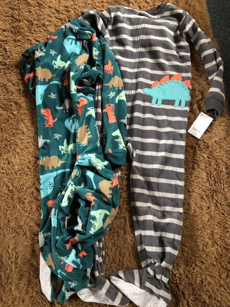 20ad37b06faa Carters 5t Pajamas Dinosour New Mwt  fashion  clothing  shoes ...