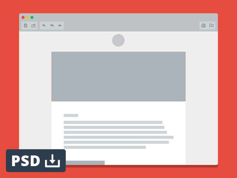 Email Window Mockup Mockup Web Design Mockup Free Psd