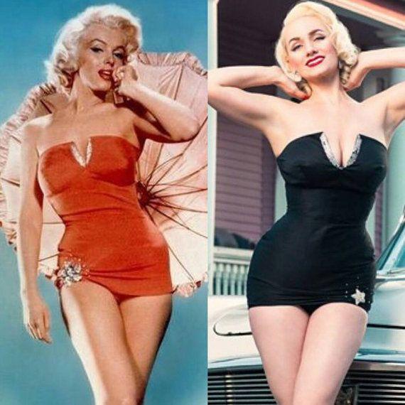 ff65ba8943 Benutzerdefinierte Couture Marilyn Monroe roten von DaintyRascal ...