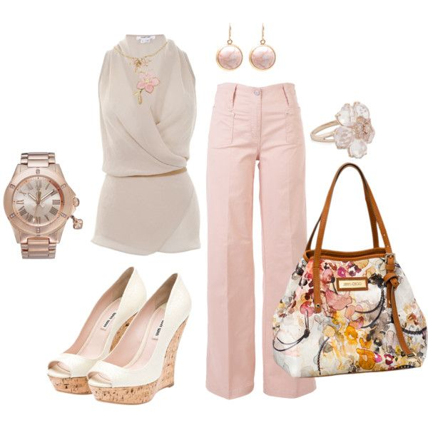 Neutrals, created by johnna-cameron on Polyvore