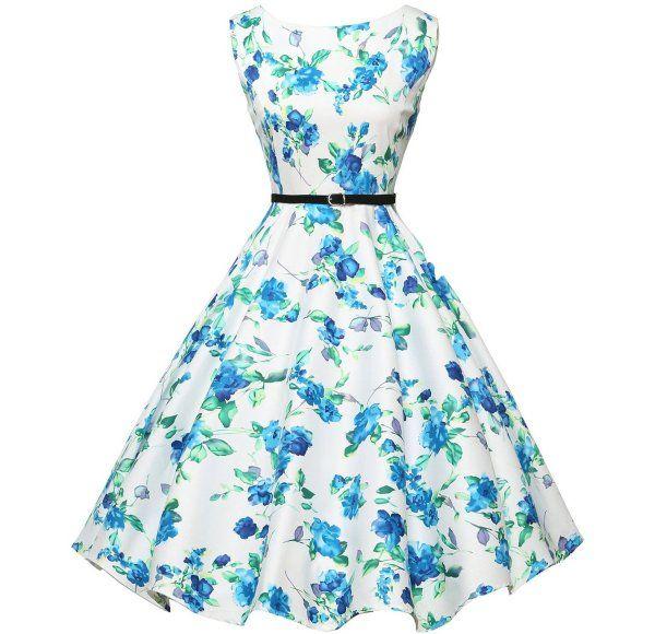 8 Cute & Inexpensive Vintage Summer Dresses by Grace Karin: Cute ...